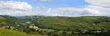 A Panoramic View of the Wye Valley Near Erwood  Powys  Wales  United Kingdom  Europe