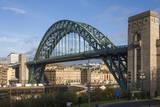 Tyne Bridge Crossing the River Tyne