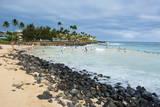 Brennecke Beach  Kauai  Hawaii  United States of America  Pacific