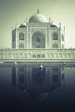 Taj Mahal  UNESCO World Heritage Site  Agra  Uttar Pradesh  India  Asia