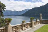 View from a Terrace  Villa Barbonella  Lake Como  Italian Lakes  Lombardy  Italy  Europe