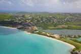 View of Dickinson Bay and Beach  Antigua  Leeward Islands  West Indies  Caribbean  Central America