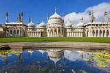 Brighton Royal Pavilion with Reflection  Brighton  East Sussex  England  United Kingdom  Europe