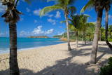 Galley Bay and Beach  St Johns  Antigua  Leeward Islands  West Indies  Caribbean  Central America