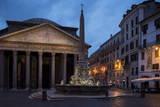The Pantheon  Rome  Lazio  Italy  Europe