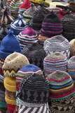 Traditional Colourful Woollen Hats for Sale in Old Square
