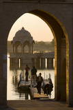 Tilon-Ki-Pol  Gadi Sagar  Jaisalmer  Western Rajasthan  India  Asia