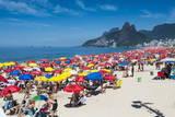 Famous Copacabana  Rio De Janeiro  Brazil  South America