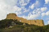Kritinia Castle  Rhodes  Dodecanese  Greek Islands  Greece  Europe