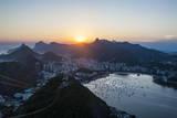 View from the Sugarloaf  Rio De Janeiro  Brazil  South America
