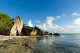 Anse Source D'Argent Beach  La Digue  Seychelles  Indian Ocean  Africa