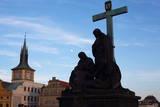 Charles Bridge  UNESCO World Heritage Site  Prague  Czech Republic  Europe