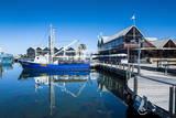 Fishing Boat Harbour of Fremantle  Western Australia  Australia  Pacific
