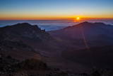 Sunrise Above Haleakala National Park  Maui  Hawaii  United States of America  Pacific