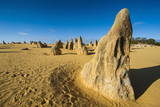 The Pinnacles Limestone Formations at Sunset Contained