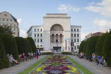 National Theatre and Opera House in Piata Victoriei  Timisoara  Banat  Romania  Europe