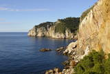 The Rugged Coast Near Sa Tuna  Costa Brava  Catalonia  Spain  Mediterranean  Europe