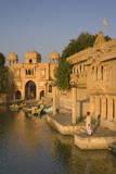 Gadi Sagar  Jaisalmer  Western Rajasthan  India  Asia