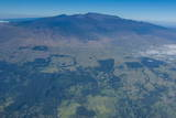Aerial of Mauna Kea  Big Island  Hawaii  United States of America  Pacific