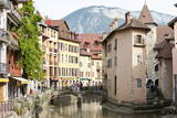 A View of the Old Town of Annecy  Haute-Savoie  France  Europe