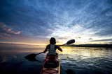 Sea Kayaking in Raja Ampat  West Papua  Indonesia  New Guinea  Southeast Asia  Asia