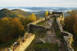 Wegelnburg Castle  Palatinate Forest  Rhineland-Palatinate  Germany  Europe