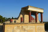 King Minos Palace  Minoan Archaeological Site of Knossos  Crete  Greek Islands  Greece  Europe