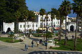 Grand Socco (April 9 1947 Square)  New City  Tangier  Morocco  North Africa  Africa
