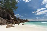 Grand Anse Beach  La Digue  Seychelles  Indian Ocean  Africa