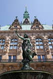 Rathaus (Town Hall)  Hamburg  Germany  Europe