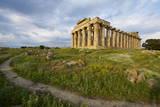 Temple E  Selinunte  Trapani District  Sicily  Italy  Europe