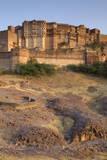 Meherangarh Fort  Jodhpur  Western Rajasthan  India  Asia