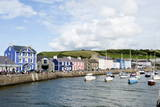 A View of the Harbour at Aberaeron  Ceredigion  Wales  United Kingdom  Europe