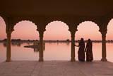 Women in Traditional Dress  Jaisalmer  Western Rajasthan  India