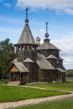 Wooden Church in the Museum of Wooden Architecture  Suzdal  Golden Ring  Russia  Europe