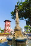 Tan Beng Swee Clocktower and Fountain