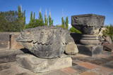 Zvartnots Cathedral  UNESCO World Heritage Site  Yerevan  Armenia  Central Asia  Asia