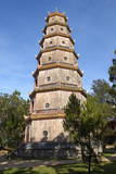 Thien Mu Pagoda  Hue  Vietnam  Indochina  Southeast Asia  Asia