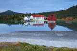 The Old Trading Centre of Kjerringoy  Nordland  Norway  Scandinavia  Europe