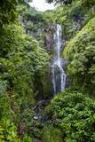 Makahiku Falls on the East Coast of Maui  Hawaii  United States of America  Pacific