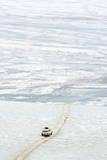 Driving on the Lake  Maloe More (Little Sea)  Frozen Lake During Winter  Olkhon Island  Lake Baikal