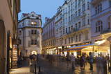 Street Scene  Prague  Czech Republic  Europe