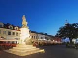 Monument to Tadeusz Kosciuszko  Rynek Town Square  Rzeszow  Poland  Europe