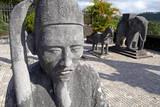 Khai Dinh Tomb  Hue  Vietnam  Indochina  Southeast Asia  Asia