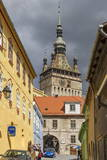Clocktower  Sighisoara  UNESCO World Heritage Site  Translyvania  Romania  Europe