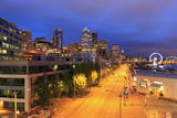 Alaskan Way  Seattle  Washington State  United States of America  North America