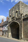 The Old Abbey Entrance and Medieval Timber Framed Houses