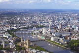 Aerial View of the Houses of Parliament