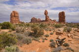 Balanced Rock  Arches National Park  Utah  United States of America  North America