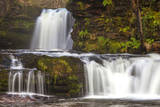 Brecon Beacons Waterfall  Powys  Wales  United Kingdom  Europe